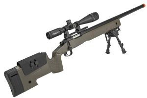 USMC M40A3 Bolt Action Airsoft Sniper Rifle